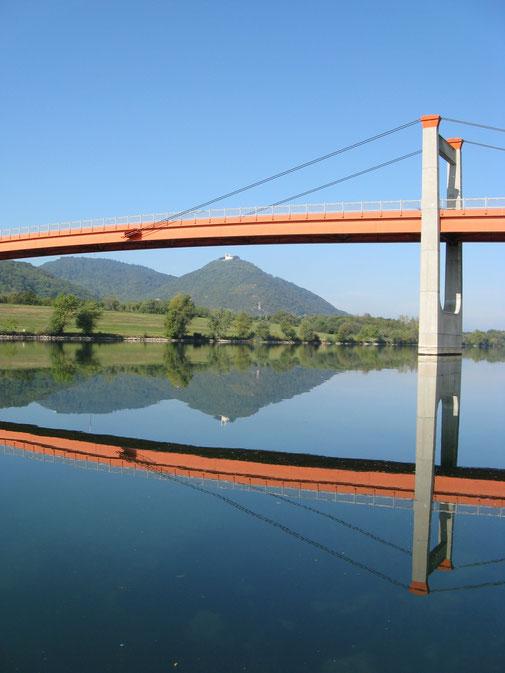 Leopolsberg und Jedleseer Brücke