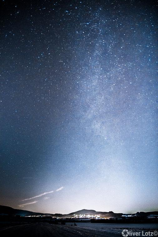 Nachthimmel Fotografie Milchstraße