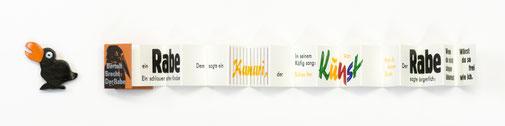 12. Band Bert Brecht – Der Rabe, Beilage: kleiner Holz-Rabe