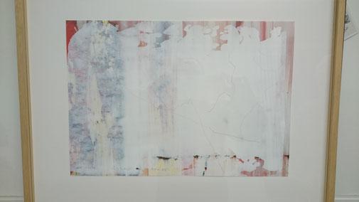 UTA ZAUMSEIL - ABB.2: Tapetenwerk 2013, 97,5 x 66,5 cm, Linolschnitt