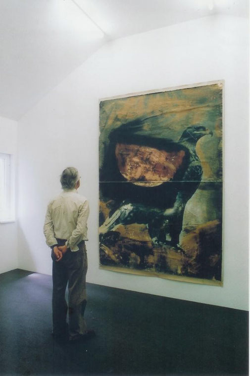Lange Hahn-Galerie Muschi haarig schwarz