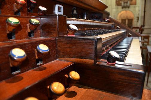L'ancienne console Debierre