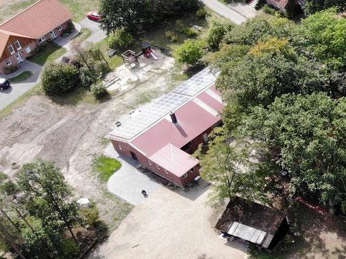 Photovoltaikanlage auf dem Imkershof der Familie Röhrs in Schneverdingen-Surbostel