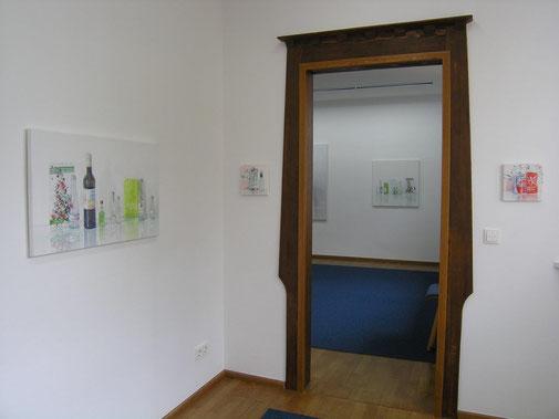Sabine Christmann, Malerei, Painting, Museum Stangenberg Merck, 2021