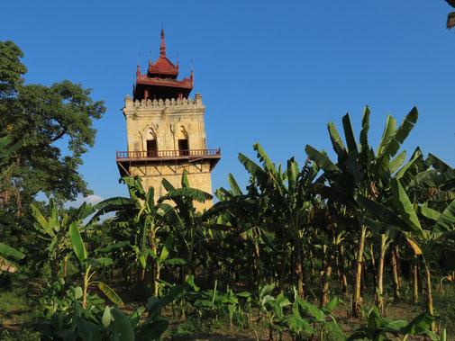 schiefer Turm von Inwa