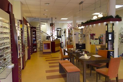 Das Ladenlokal von Fluthwedel Optik