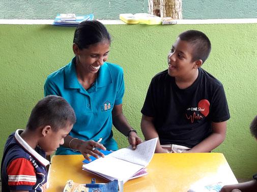 Beispielprojekt: Behindertenzentrum in Beruwala