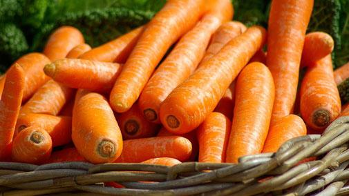 Nährwerttabelle - Vitamin A - Karotten - fair4world