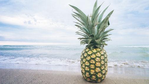 fair4world - Ananas für die trockene Haut