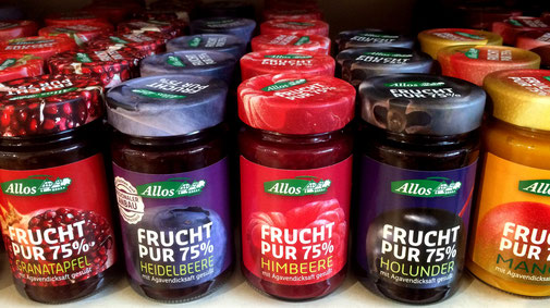Allos - Die zuckerfreie Bio-Marmelade - fair4world