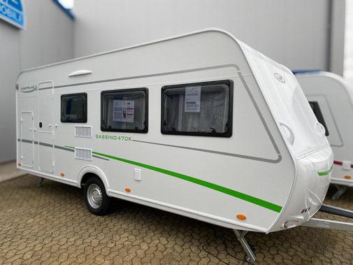 Aussenfoto LMC Wohnwagen Sassino 470 K