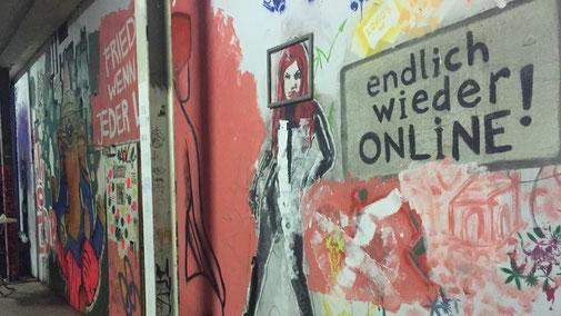 MBSR Gero Sprafke Neubeginn, Graffiti: endlich wieder online
