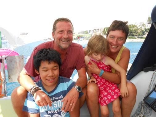 Bateau Plume - Une année sabbatique avec ma petite famille