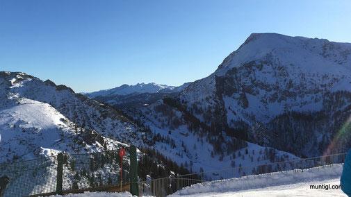 Blick von der Jenner-Bergstation...