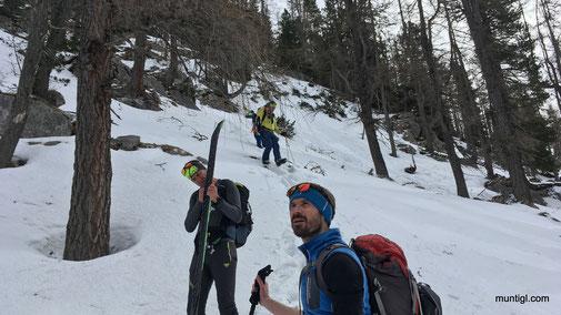Unsere Alternativer Aufstiegsweg inkl. 30HM spezial Abstieg :-)