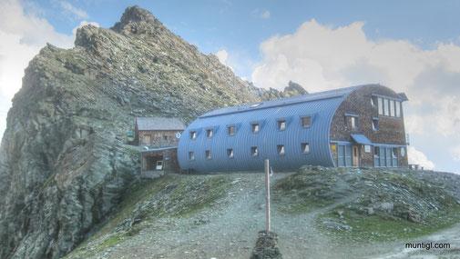 Stüdlhütte auf 2802m