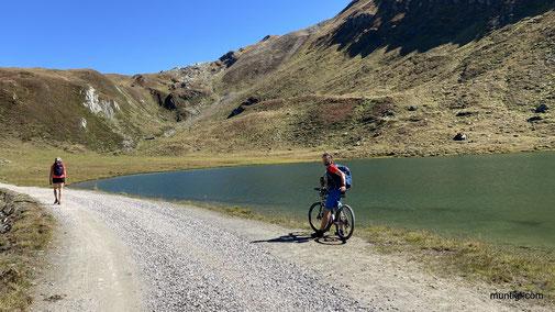 am Lago di Gola (Klammlsee)