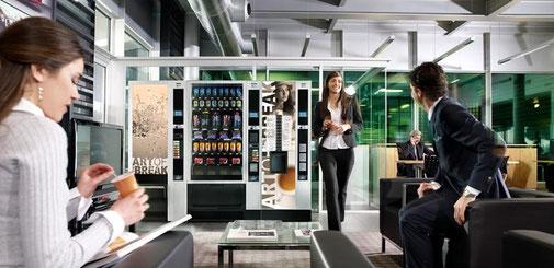 Automaten Service und Kaltgetränkeautomaten von Mahlzeit Catering