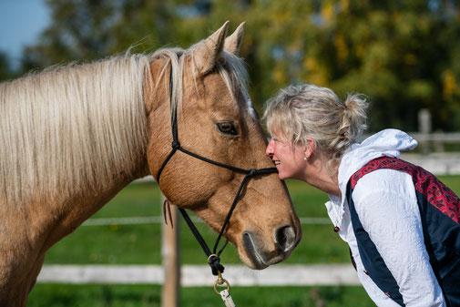 Intensivkurs Horsemanhip lernen Seminar mit TGT Trainerin Tanja Rühter-Böttger in Schleswig Hollstein