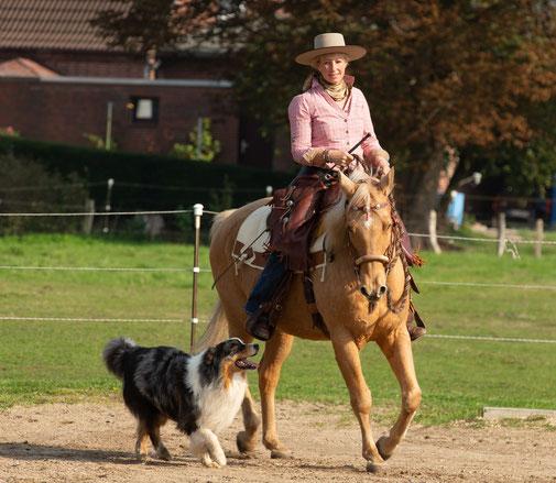 Tanja Rühter-Böttger Reiterhof Rehedyk Horsemanship Seminar leichtes reiten lernen TGT Lehrerin
