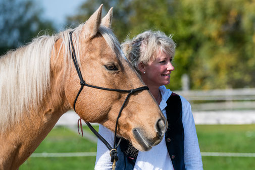 Horsemanship Kurs Seminar leichtes Reiten lernen mit TGT Trainerin Tanja Rühter-Böttger Reiterhof Rehedyk
