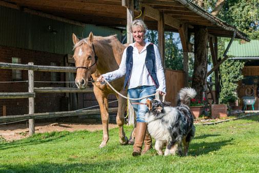 Seminar Reiten lernen mit TGT Trainerin Tanja Rühter-Böttger Reiterhof Rehedyk Horsemanship