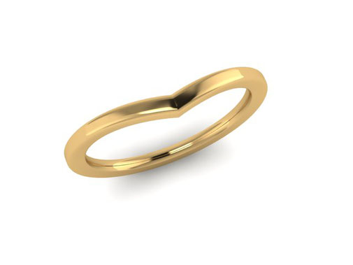 Dawn Wishbone Ring