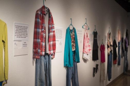 Die ursprüngliche Ausstellung an der University of Arkansas, 2014