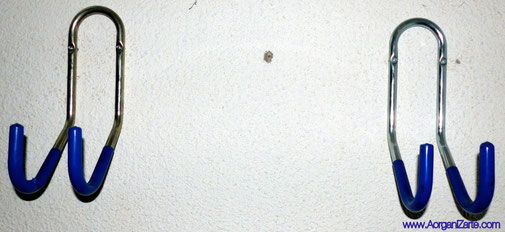Aprovecha la pared para colgar cosas - www.AorganiZarte.com