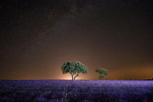 Brihuega , nocturna, paisaje, Castilla-La Mancha