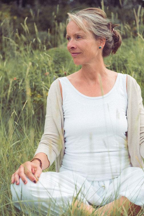Yogalehrerin Karin Ackermann