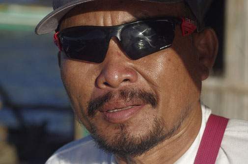 Willi, unser freundlicher Habal - Habal Fahrer