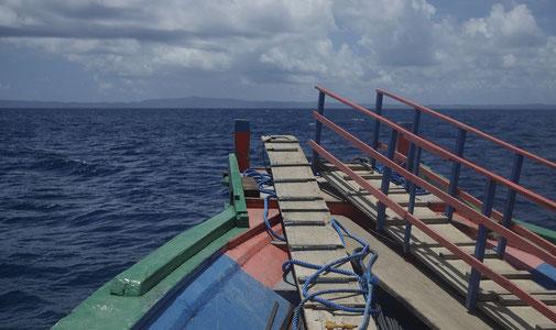 Mit der Fähre nach Polillo Island