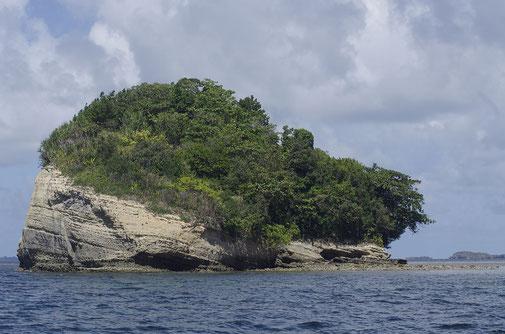 Aber nicht jeder Insel lud zum Baden ein