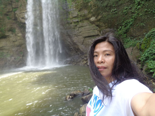 Am Hikong Alo Wasserfall