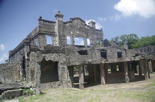 Das alte Kino von Corregidor