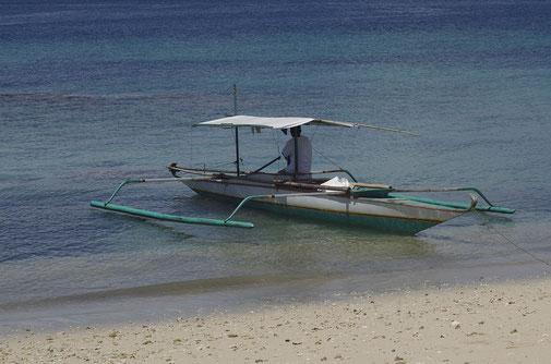 Mit diesem Boot waren wir die nächsten Tage unterwegs