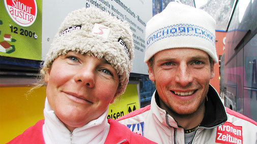 Trainerteam 2004-2008 Gabi Lanner und Manfred Gruber