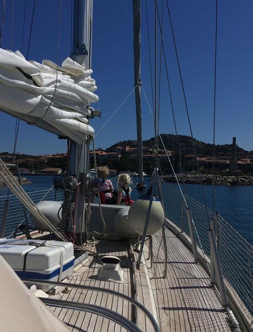 Hafeneinfahrt von Porto Rotondo