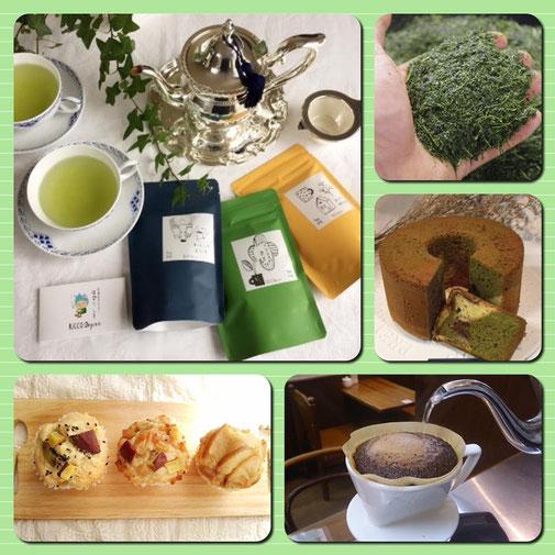 静岡県川根の有機栽培茶 樽脇園 無農薬 無化学肥料 オーガニック 太陽のマルシェイベント