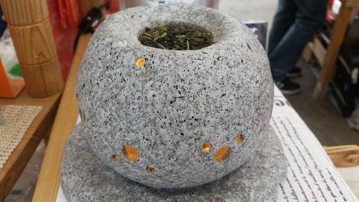 川根(静岡県)の有機栽培茶 樽脇園 無農薬 無化学肥料 オーガニック 普通煎茶 太陽のマルシェ 茶香炉