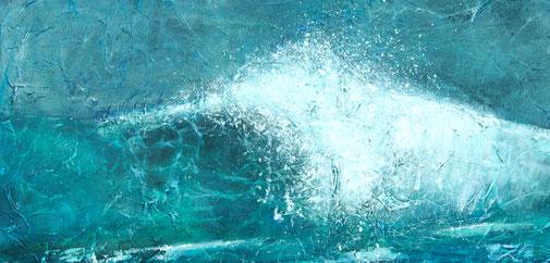 Daywave | Acryl-Mischtechnik | 40x80 cm