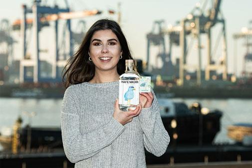 Hafenkorn - Marie Gätke - Flaschenheft - Övelgönne