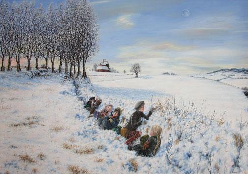 Michael Torneden Kinder im Schnee