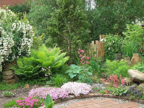 Garten Ferienwohnung An der Birke Bramsche