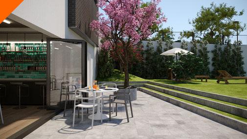 Animación 3D. Arquitectura residencial. Proyecto Impulsa 2 Rivas