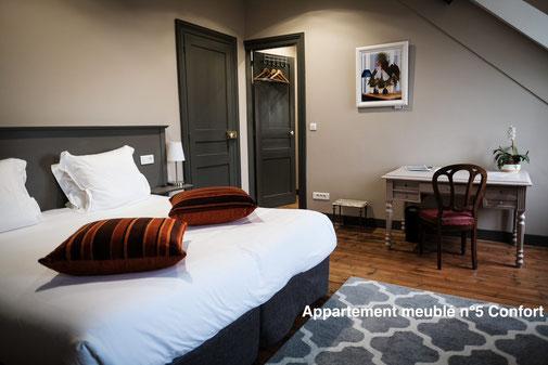 The nest - Appartement meublé avec vue direct sur la cathédrale d'Amiens, appart'hotel avec services hoteliers, bien plus qu'un simple appartement, tout est inclus.