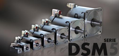 Servomotoren der Baureihe DSM5