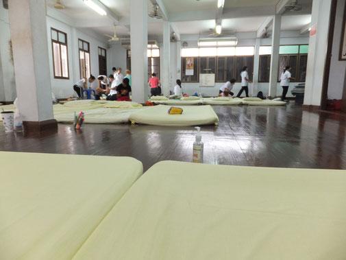 タイ古式マッサージスクール ワットポー校三階