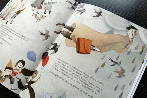 Bonjour les hirondelles (Detail)
